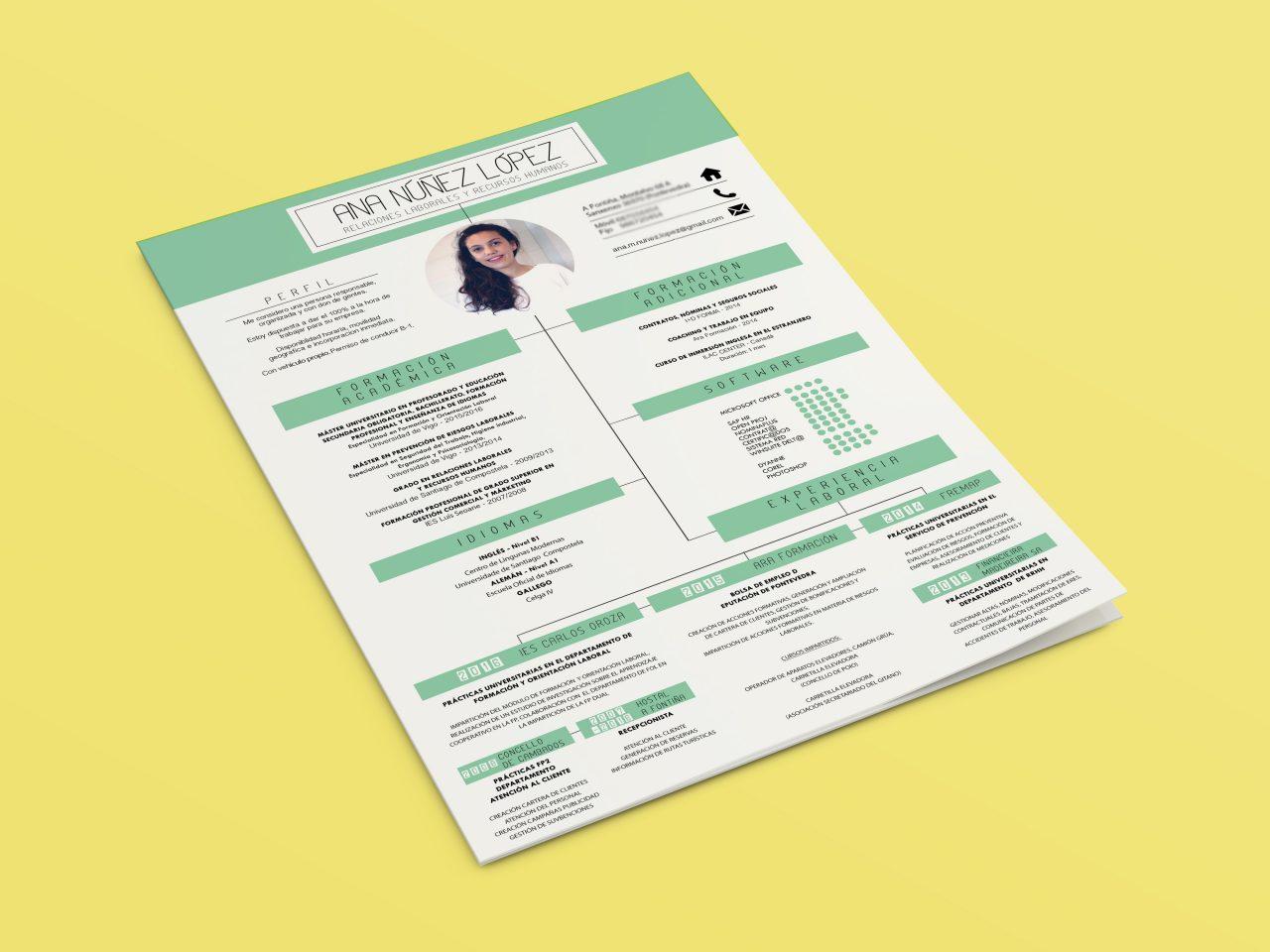 CV creativo - Ana Núñez